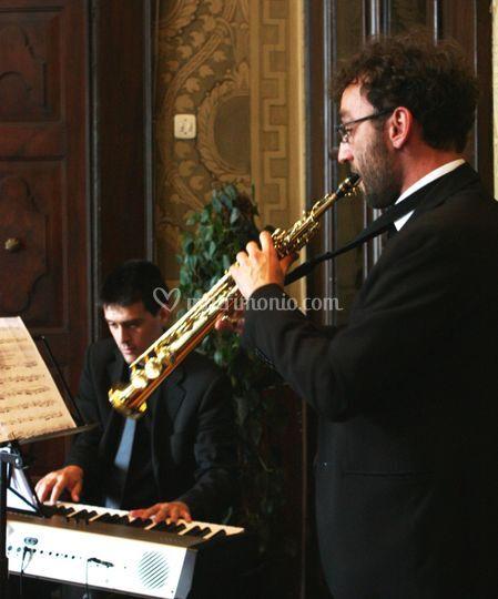 Duo piano sax per cerimonia