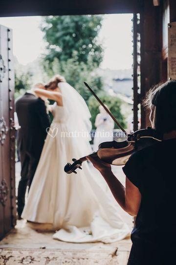 Violino per cerimonia Brescia