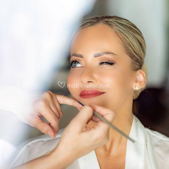 Make up nozze