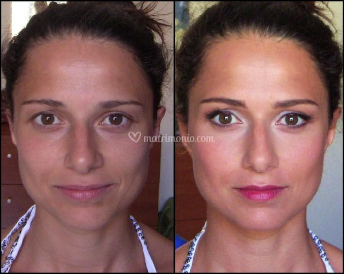 Trucco sposa Before/After