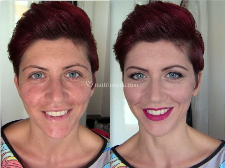 Trucco Cerimonia Before/After