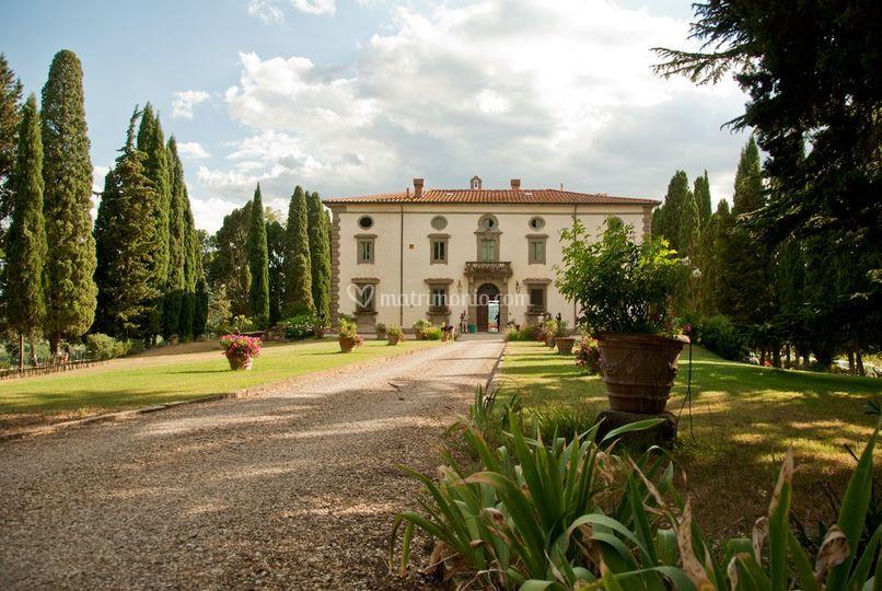 Villa di bivigliano - Il giardino italiano ...