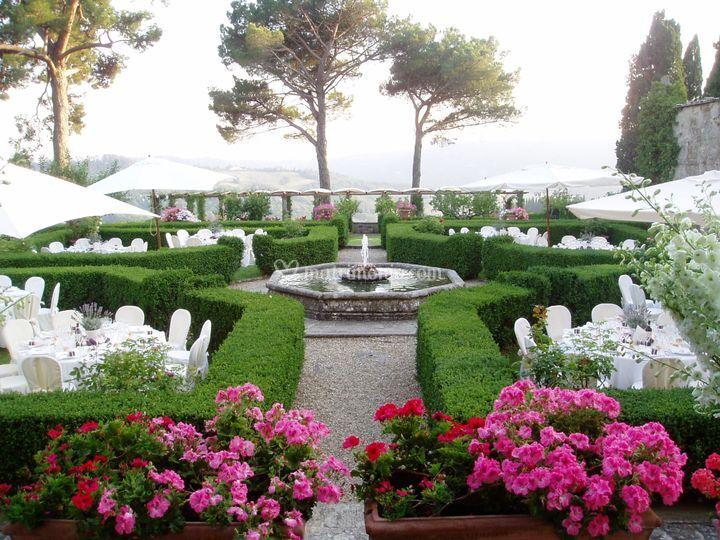 Il giardino italiano di villa di bivigliano foto 23 - Il giardino italiano ...