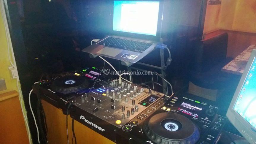 Consolle DJ per Karaoke