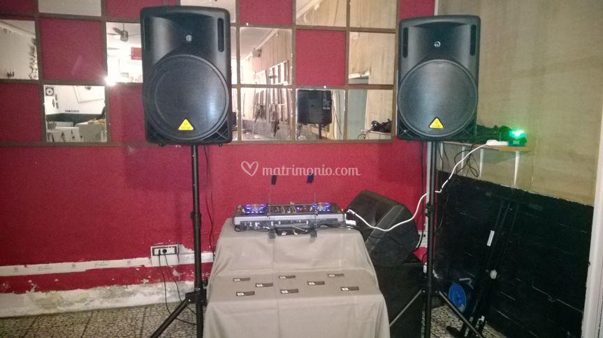 Impianto DJ