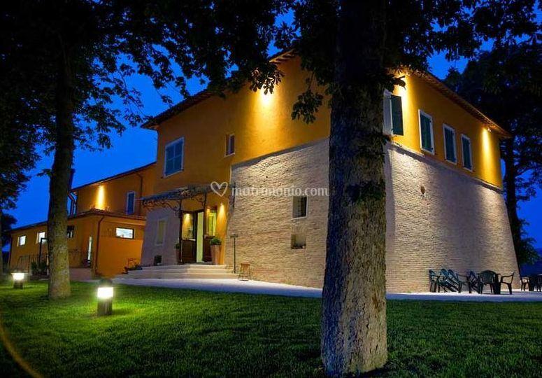 La villa illuminata