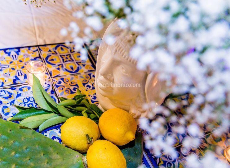 Testa di moro e limoni
