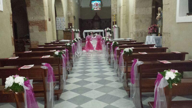 Decorazione navata centrale
