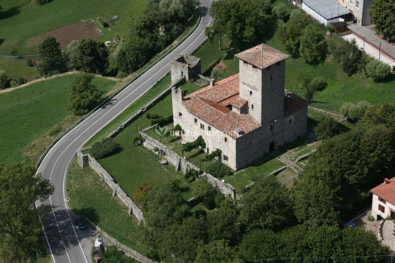 Castello di Bianzano esterni