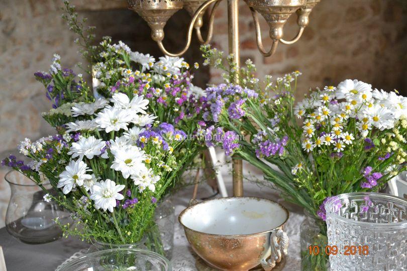 Bouquet confettata