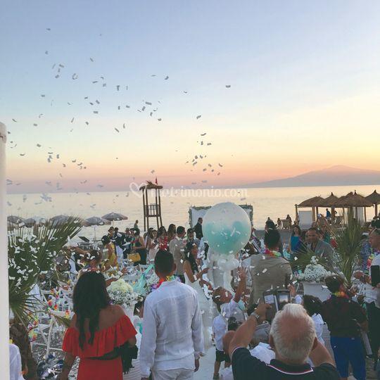 Il matrimonio in spiaggia