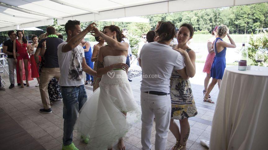 Ballo Latino in Piscina