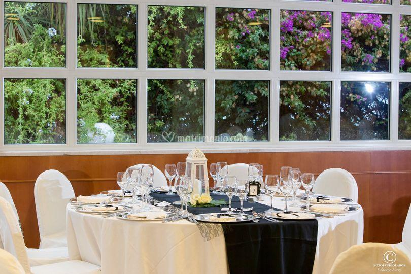 Idea allestimento sala sposi