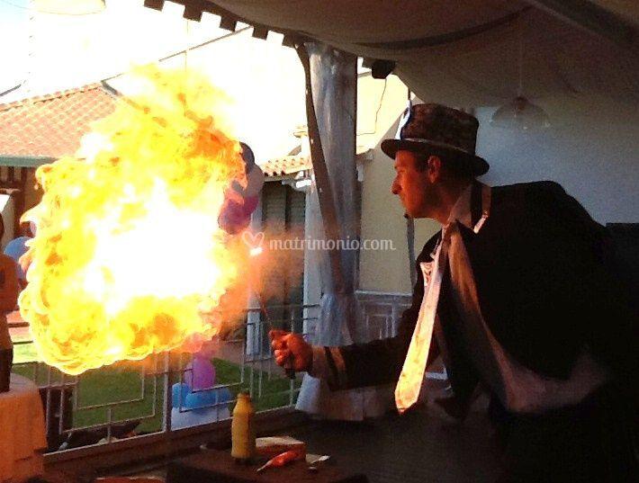 Magia con il fuoco