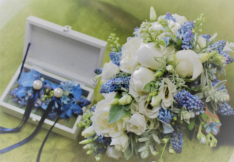 Bouquet e Scrigno fedi
