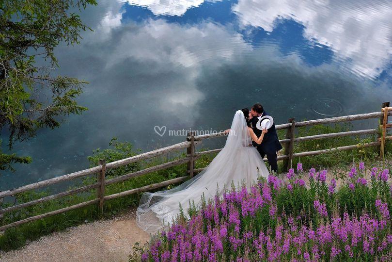 Bacio tra le nuvole