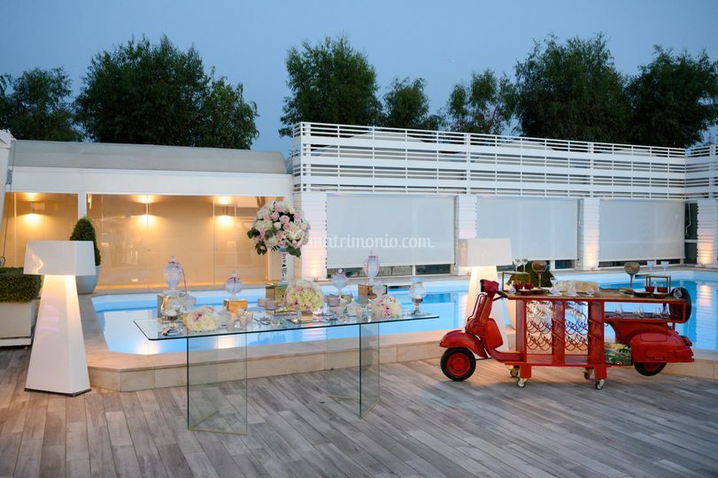 Cigar bar piscina
