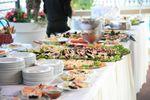 Buffet di pesce di Villa Posillipo