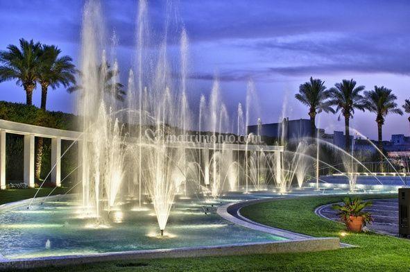 L'esclusiva fontana danzante con la musica dei vostri ricordi