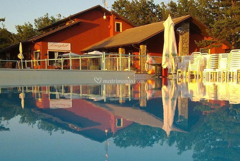 Panorama dalle piscine