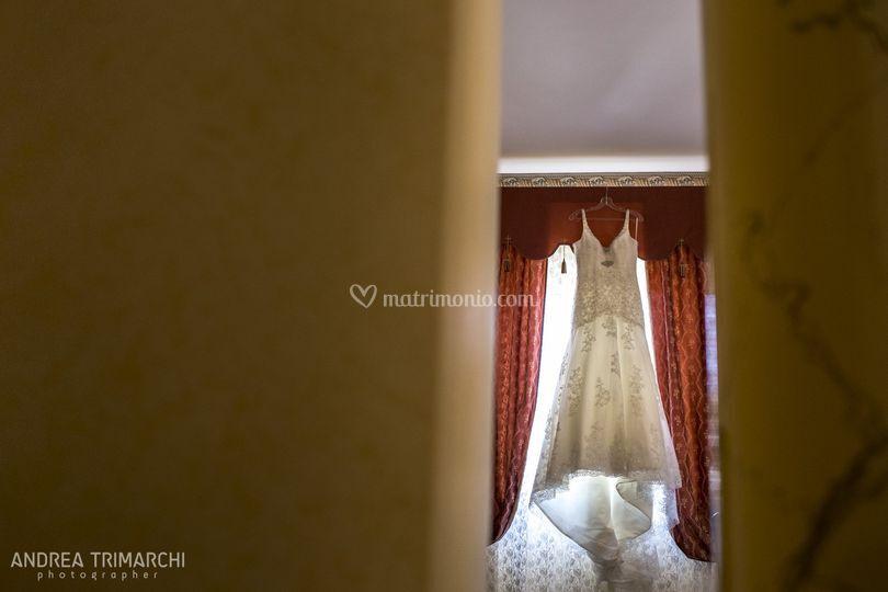 Sua maestà, l'abito da sposa