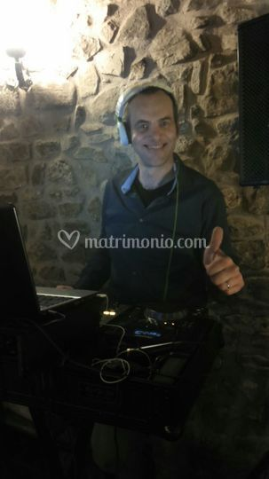 DJ Andrea alla consolle