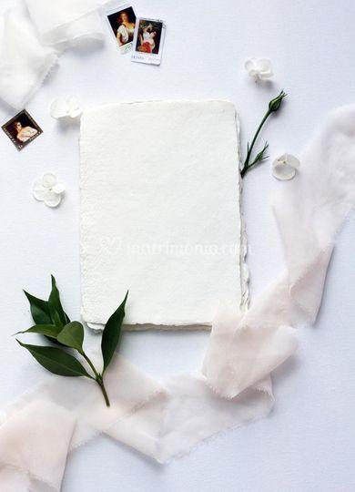 Carta cotone handmade