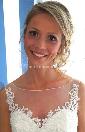 Make up nude sposa