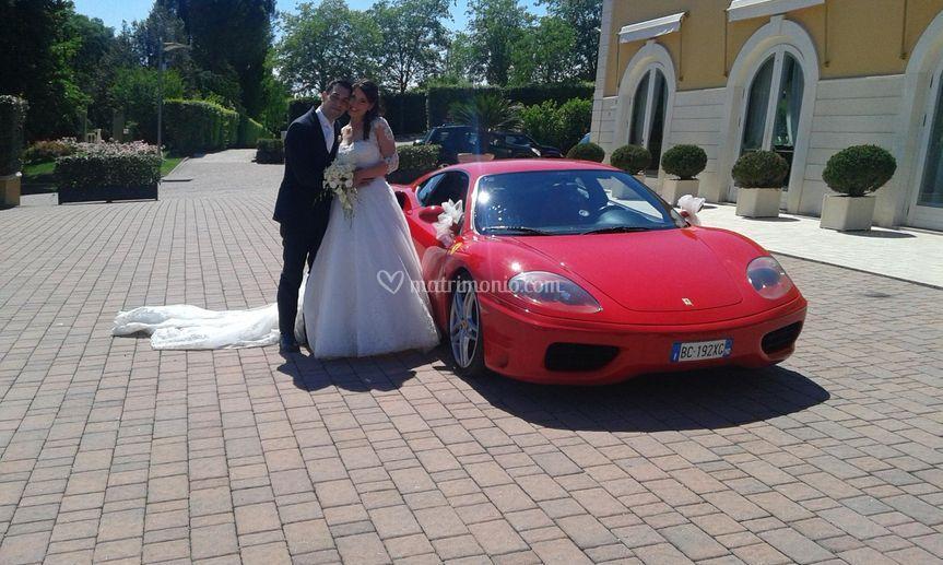 Matrimonio in Ferrari