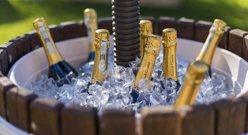 Champagne all'aperitivo