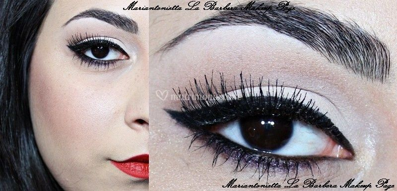 Trucco Pin up