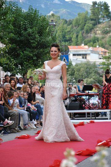Sposa colore cipria