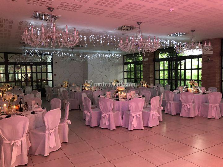 Sala arancio Wedding
