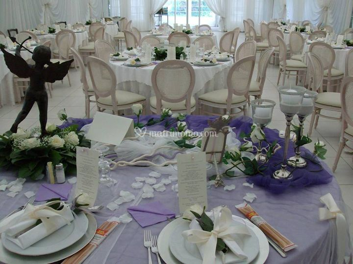 La sala palapa in lilla