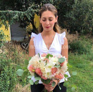 Bouquet di dahlie