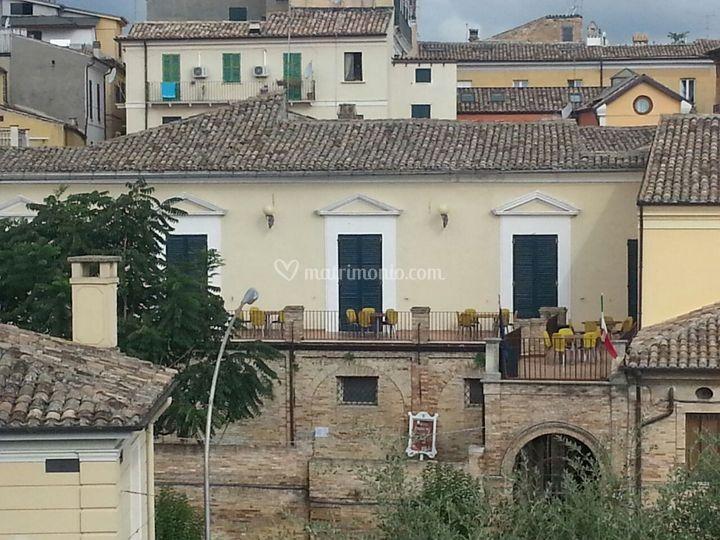 Veduta Panoramica Palazzo