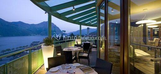 Terrazza ristorante di Hotel Spa Castello Lovere | Foto 2