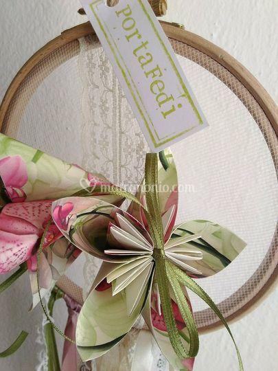Portafedi fiorigami