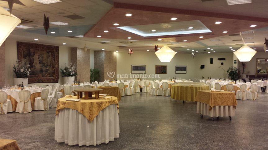 Sala con spazio per ballo