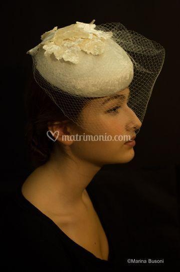 Cappellino in velluto