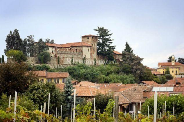 Panorama di Castello di Moncrivello