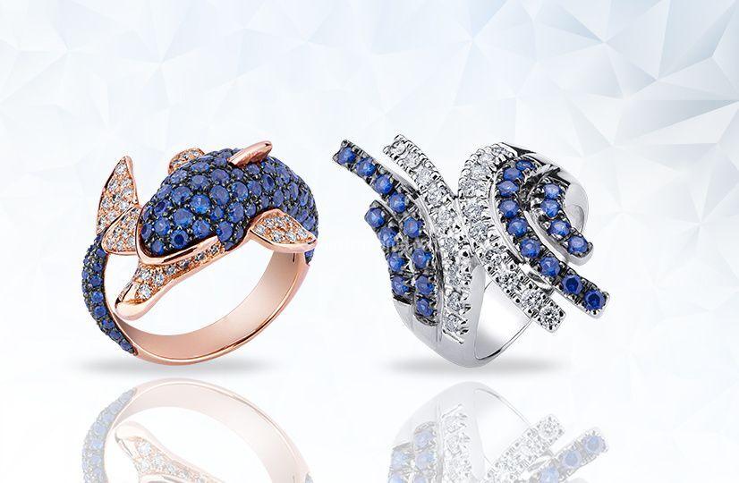 Zaffiri e diamanti