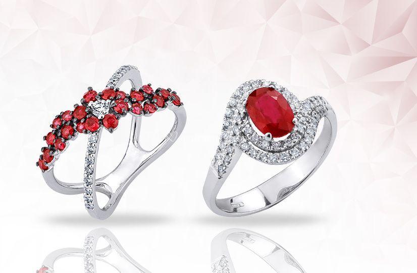 Rubini e diamanti