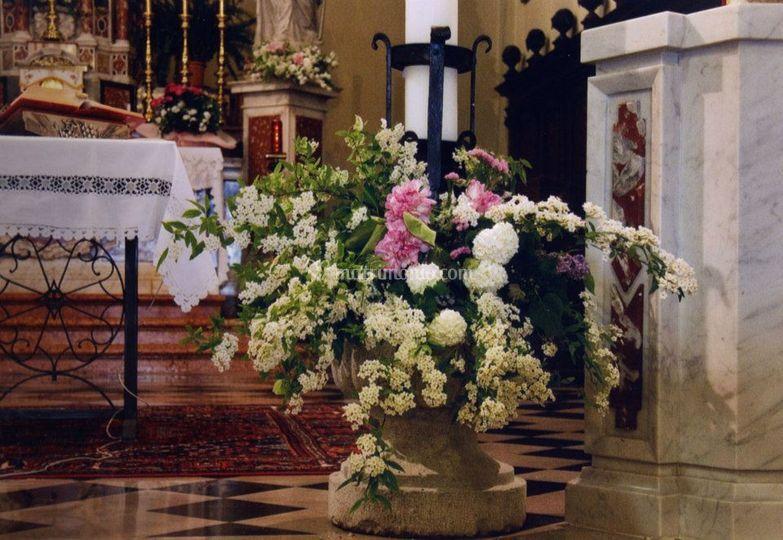 Decorazioni altare