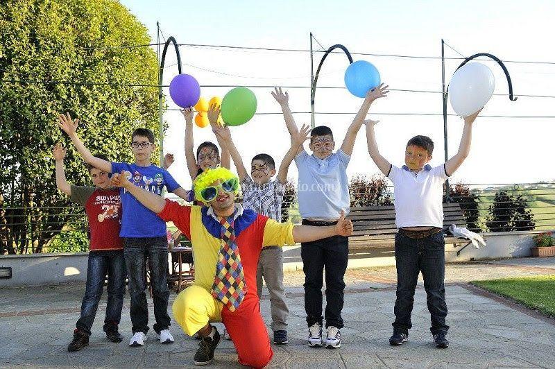 Clown per feste bambini