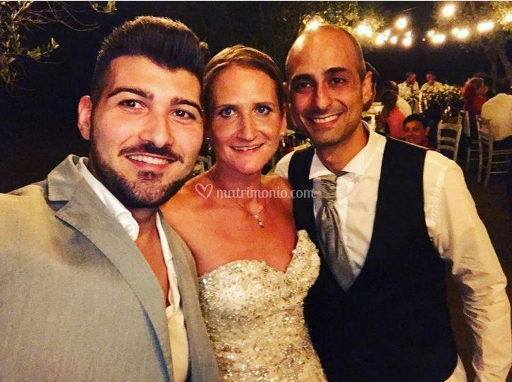 Luca e Antonella Sposi