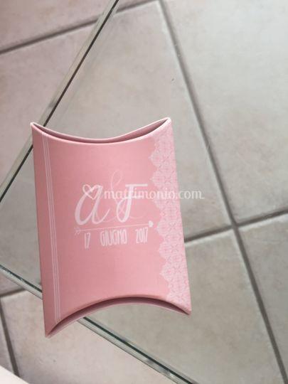 Scatola Porta-confetti