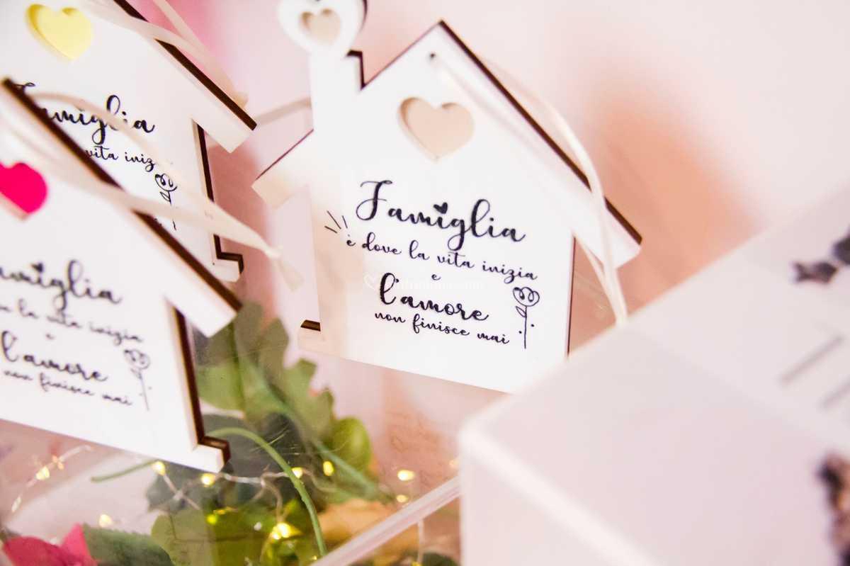 Frasi Matrimonio Famiglia.Segnaposto Frase Famiglia Di Wedding Box Foto 19