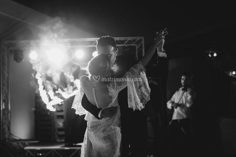 Fire Show con Ballo Sposi