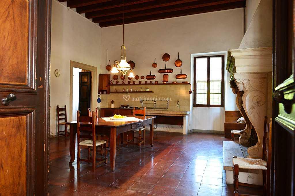 Vecchia cucina di Villa Guastaverza Bottura | Foto 22